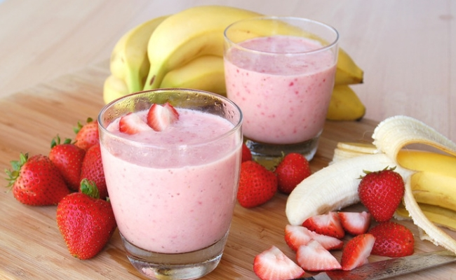 Banana-Strawberry-Smoothie