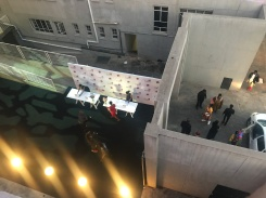 Entrance to the event